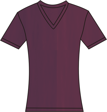 damen shirt mit v ausschnitt plum. Black Bedroom Furniture Sets. Home Design Ideas