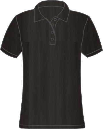 polo shirt pique damen black. Black Bedroom Furniture Sets. Home Design Ideas